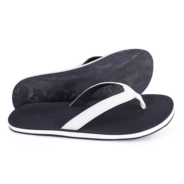 46c604cc8 indosole(美国)环保拖鞋-ESSNTLS Flip Flops Men Sea Salt Black Top ...
